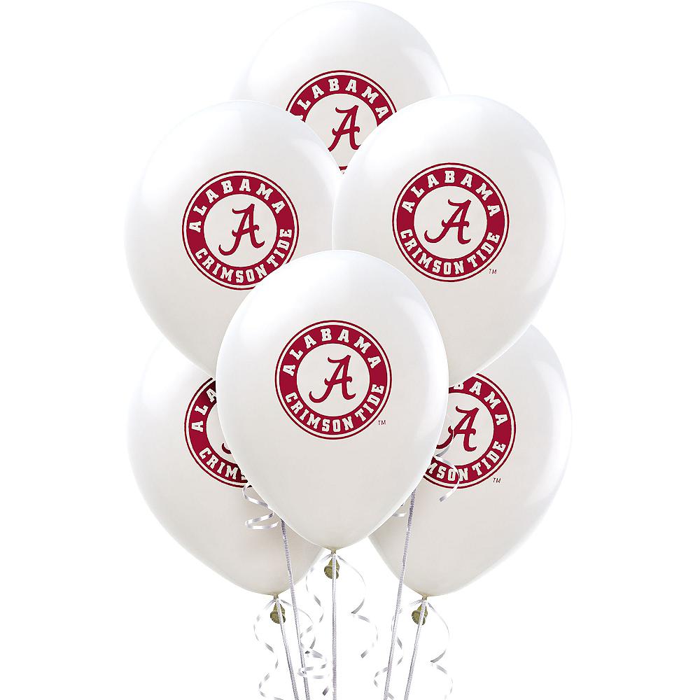 Alabama Crimson Tide Balloons 10ct Image #1