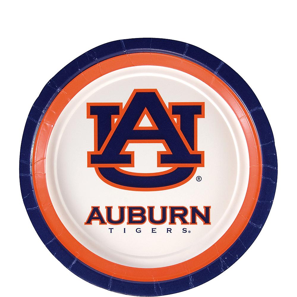 Auburn Tigers Dessert Plates 12ct Image #1