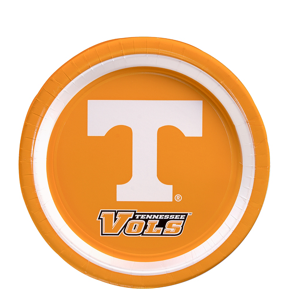 Tennessee Volunteers Dessert Plates 12ct Image #1