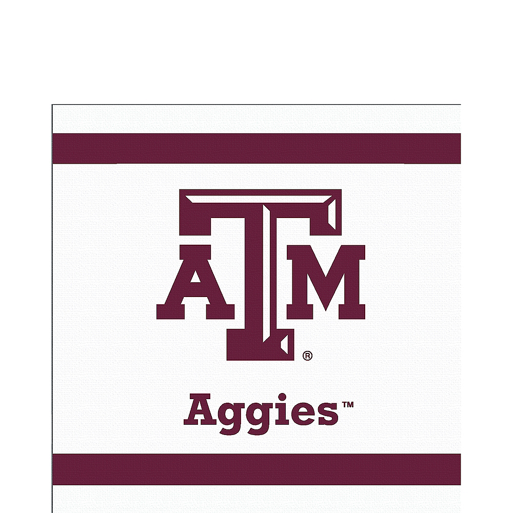 Texas A&M Aggies Lunch Napkins 20ct Image #1