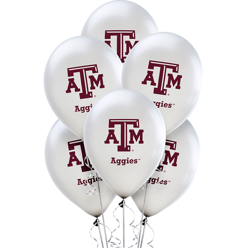 Texas A&M Aggies Balloons 10ct Image #1