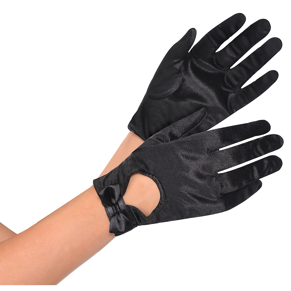 Nav Item for Black Bow Gloves Image #1