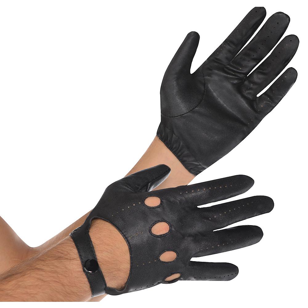 Black Motorcycle Gloves Image #1