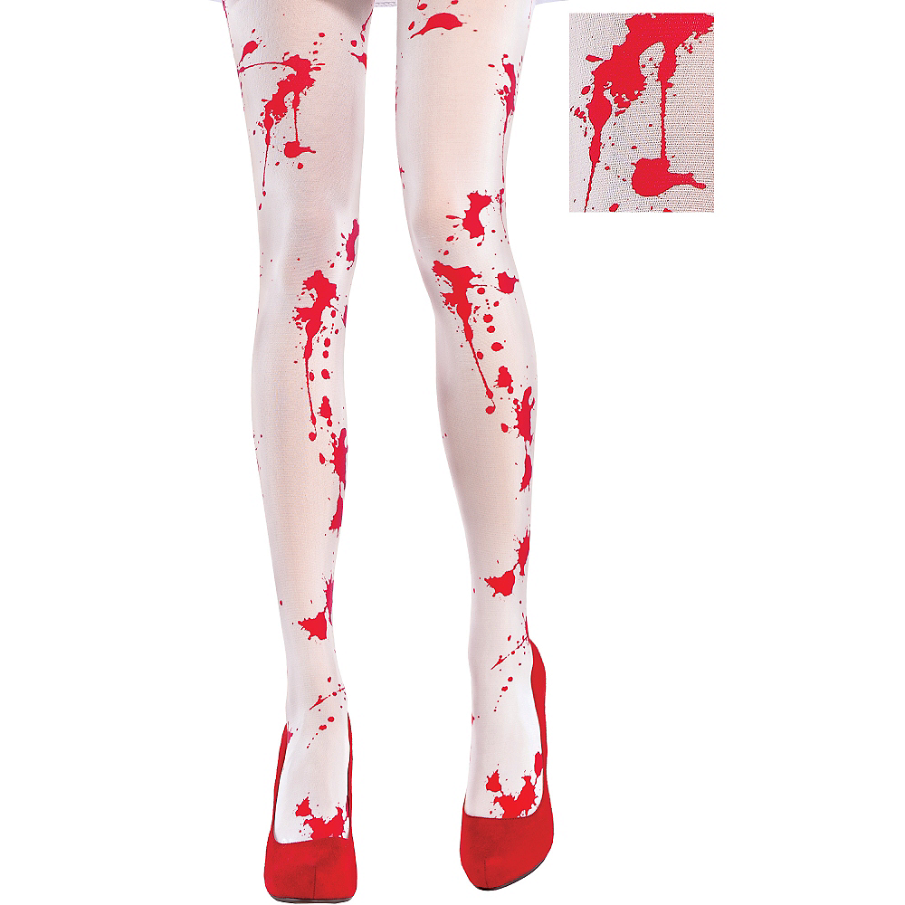 Bloody White Tights Image #1