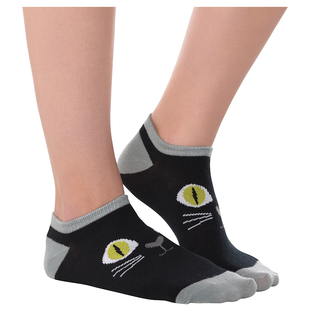 Black Cat Ankle Socks Image #1