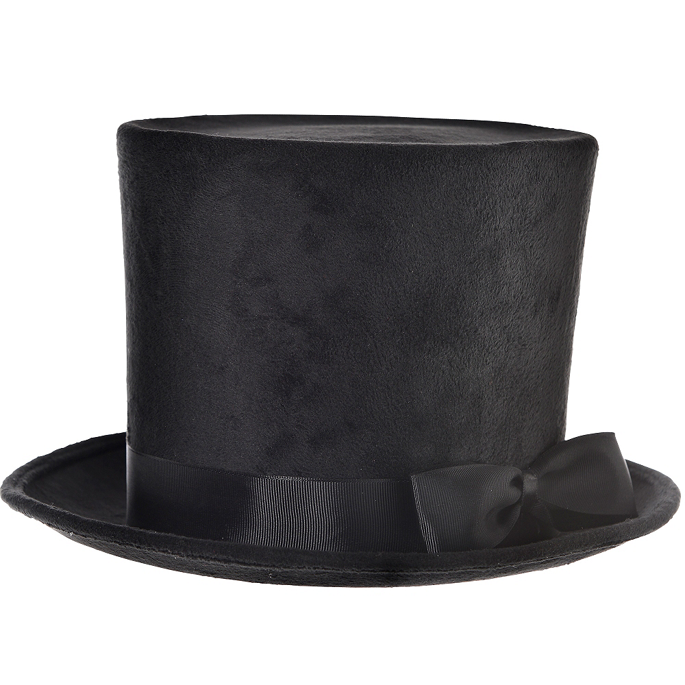 Nav Item for Victorian Black Top Hat Deluxe Image #1
