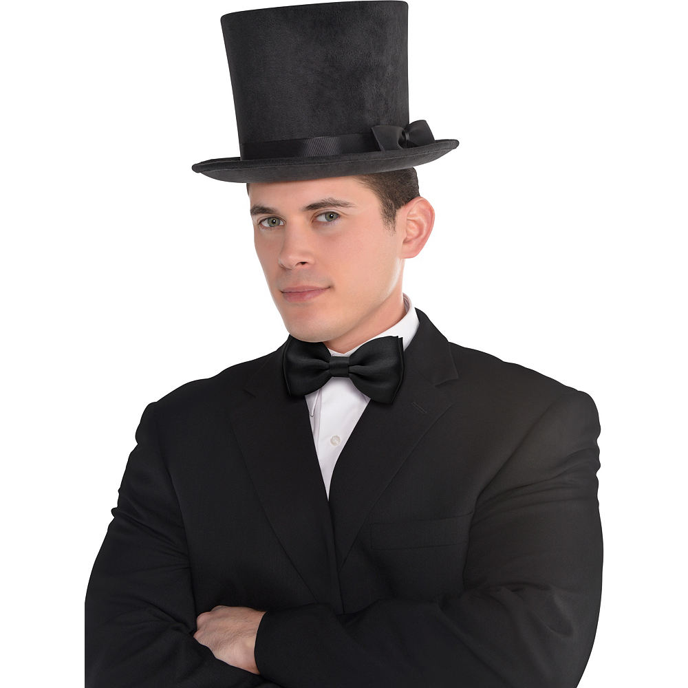 Nav Item for Victorian Black Top Hat Deluxe Image #2