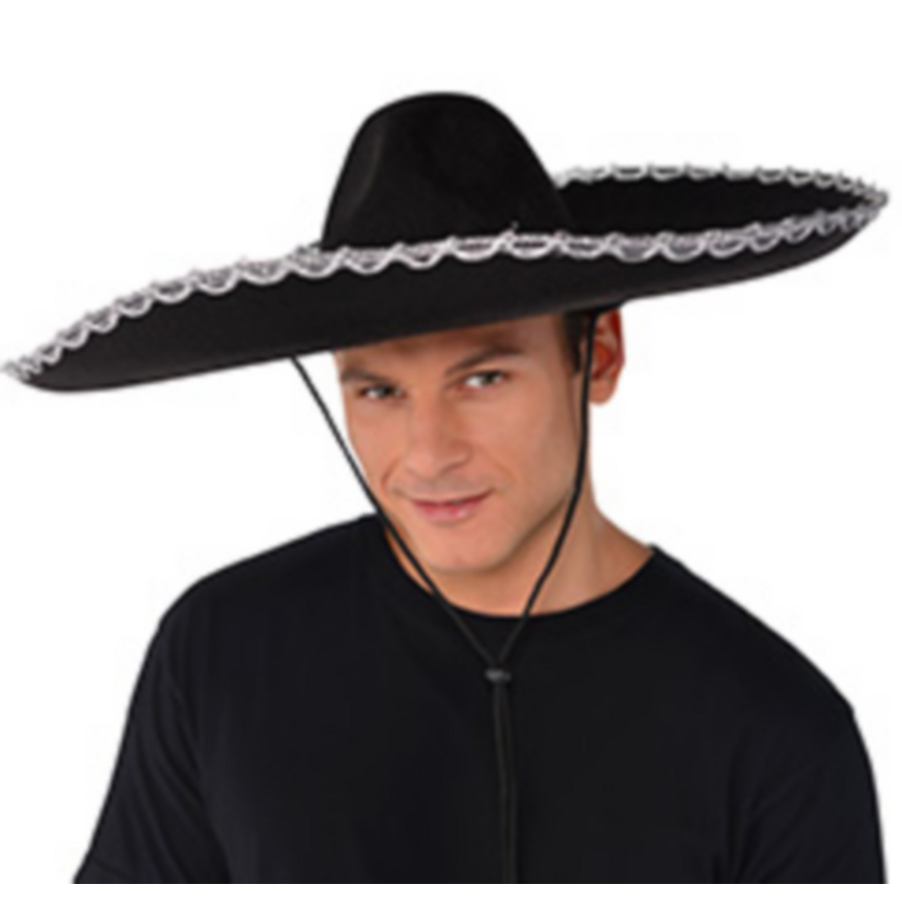 Nav Item for Silver Trim Black Sombrero Image #2