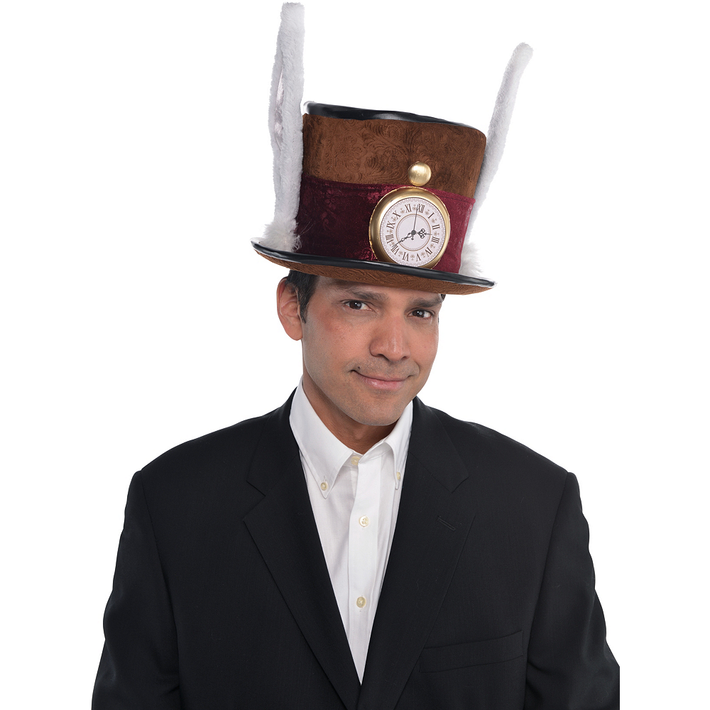 Nav Item for Mad Hatter Hat Deluxe Image #2