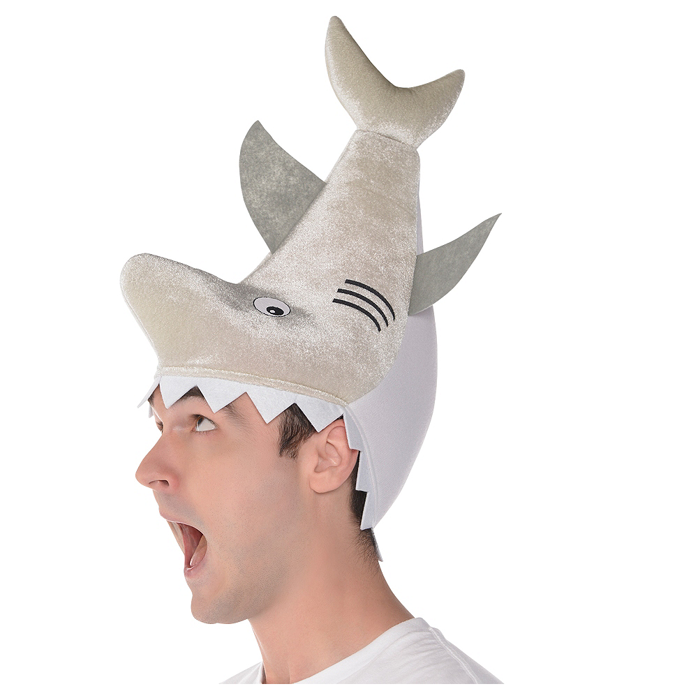 Biting Shark Hat Image #1