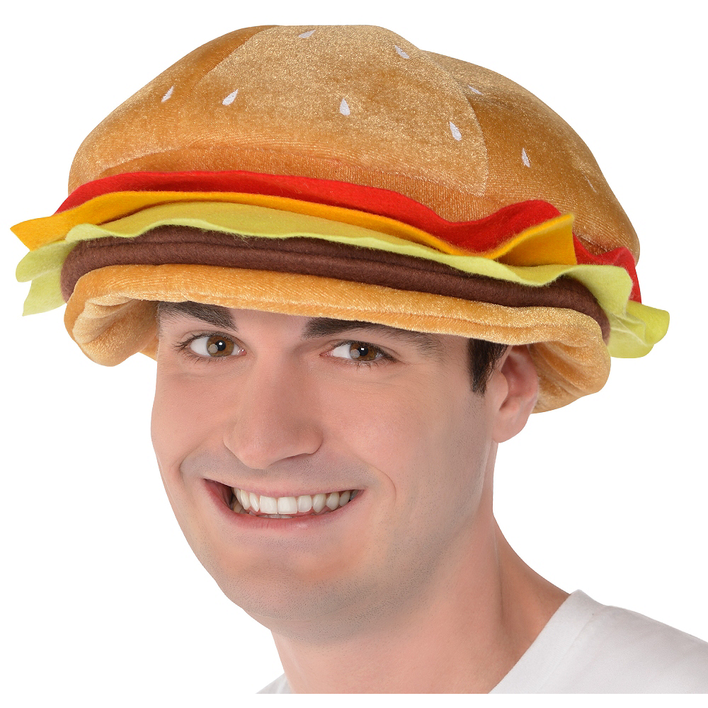 cheeseburger hat image 1