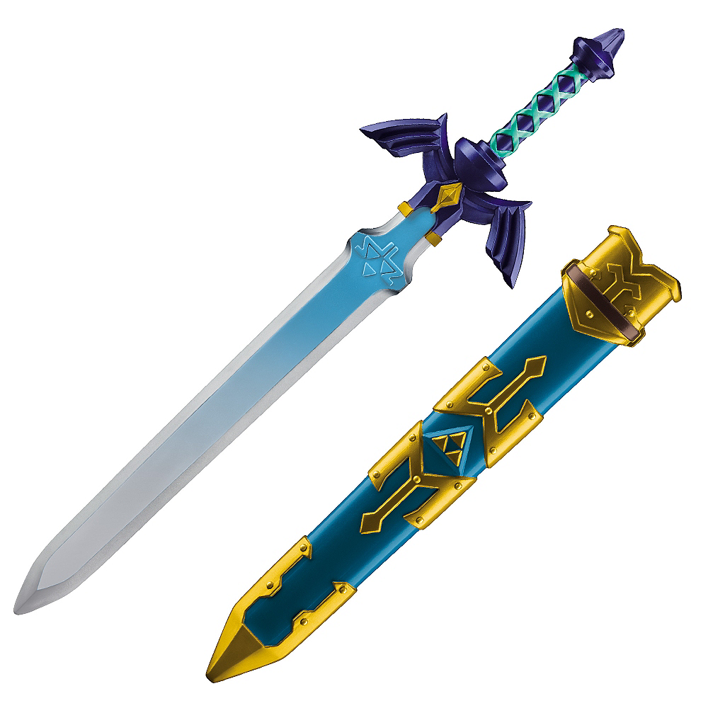 Link Master Sword 9in X 18in The Legend Of Zelda Party City