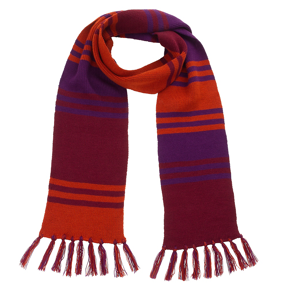 Orange & Purple Fourth Doctor Scarf - Doctor Who Image #1