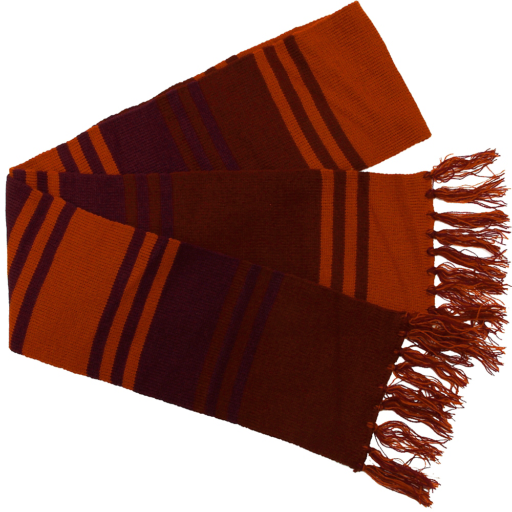 Orange & Purple Fourth Doctor Scarf - Doctor Who Image #2