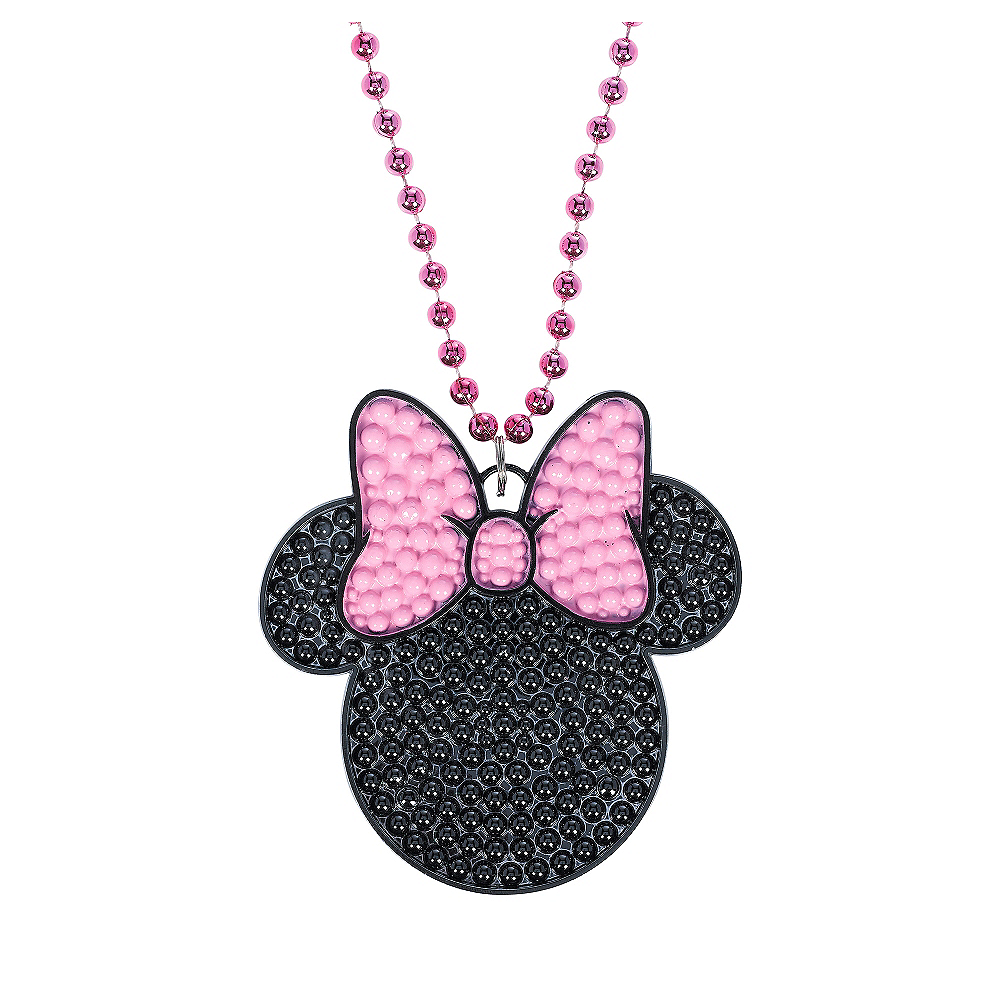 Nav Item for Minnie Mouse Pendant Necklace Image #1