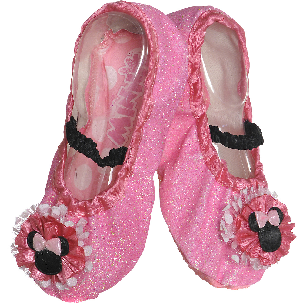 Child Minnie Mouse Slipper Shoes Image #1