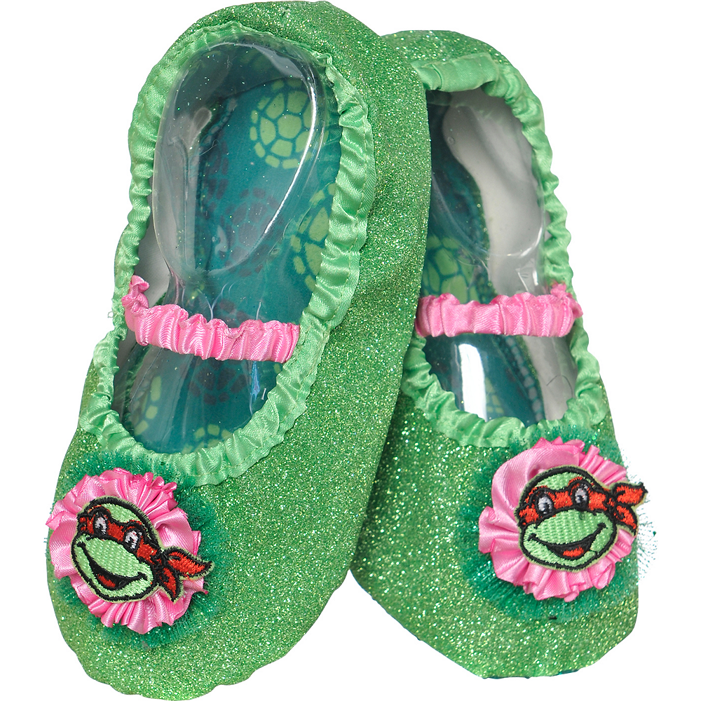 super specials purchase cheap huge inventory Child Teenage Mutant Ninja Turtles Slipper Shoes | Party City Canada