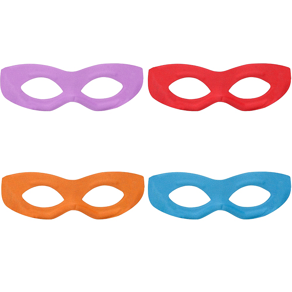 Nav Item for Teenage Mutant Ninja Turtles Eye Masks 4ct Image #1