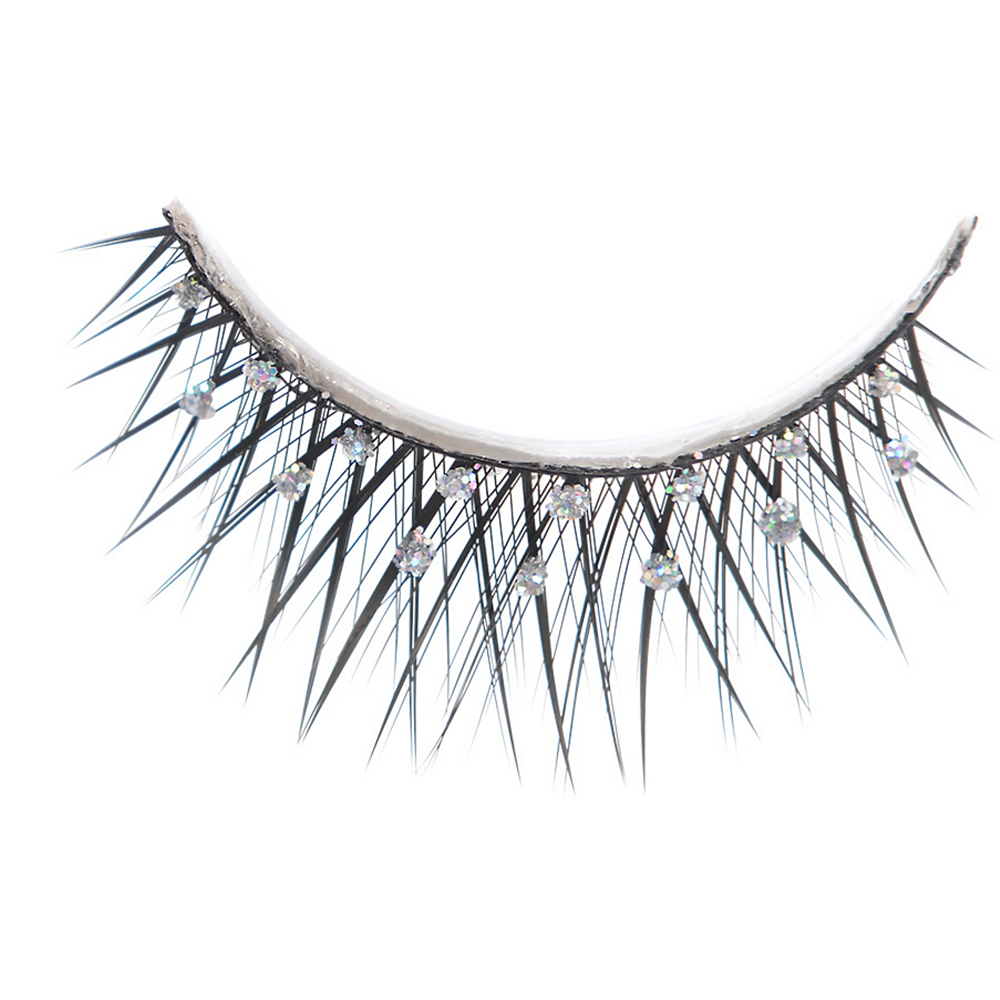 Self-Adhesive Rhinestone False Eyelashes Image #2