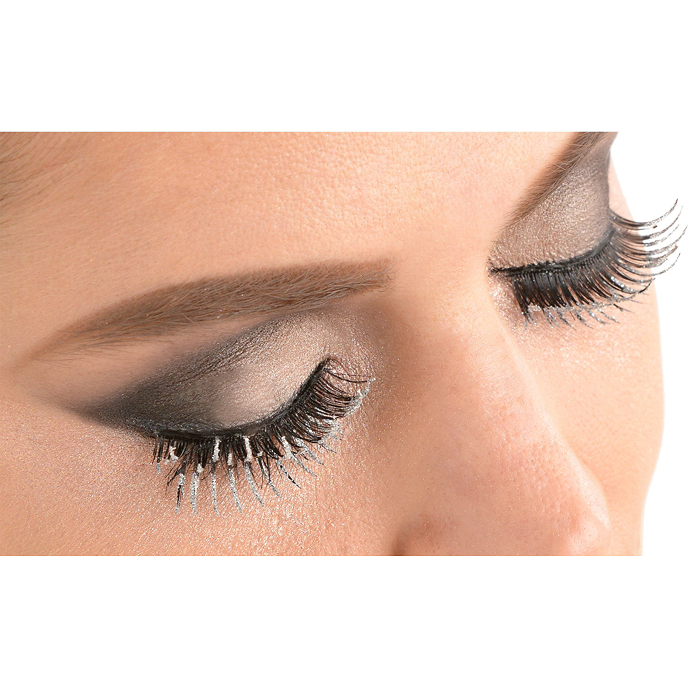 Glitter False Eyelashes Set Image #2