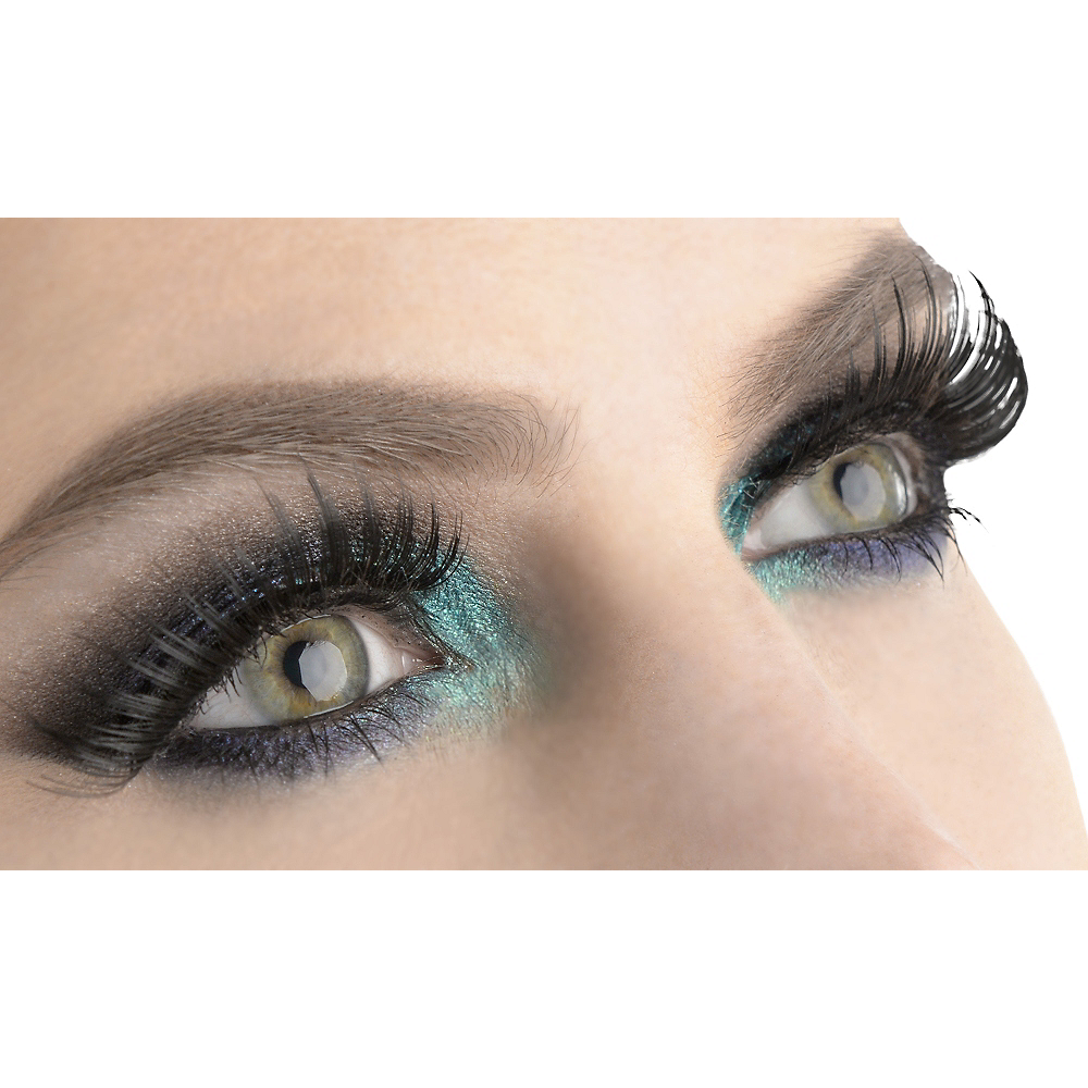 Sultry Black False Eyelashes Image #1