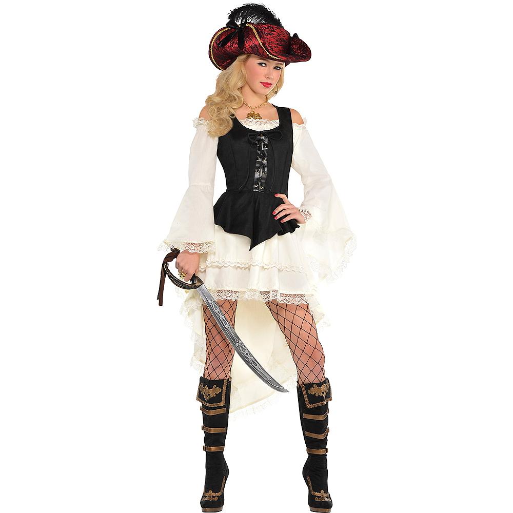 Black Pirate Vest Image #1