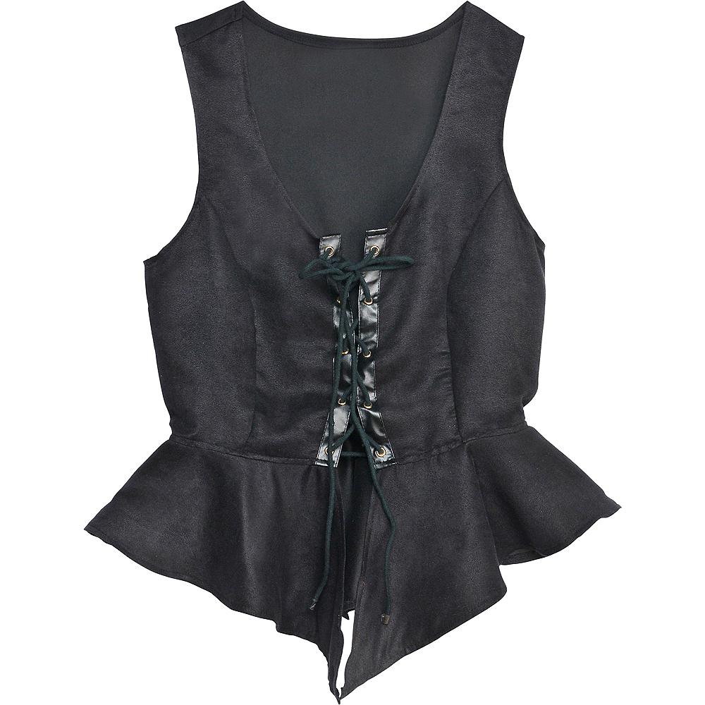 Black Pirate Vest Image #2