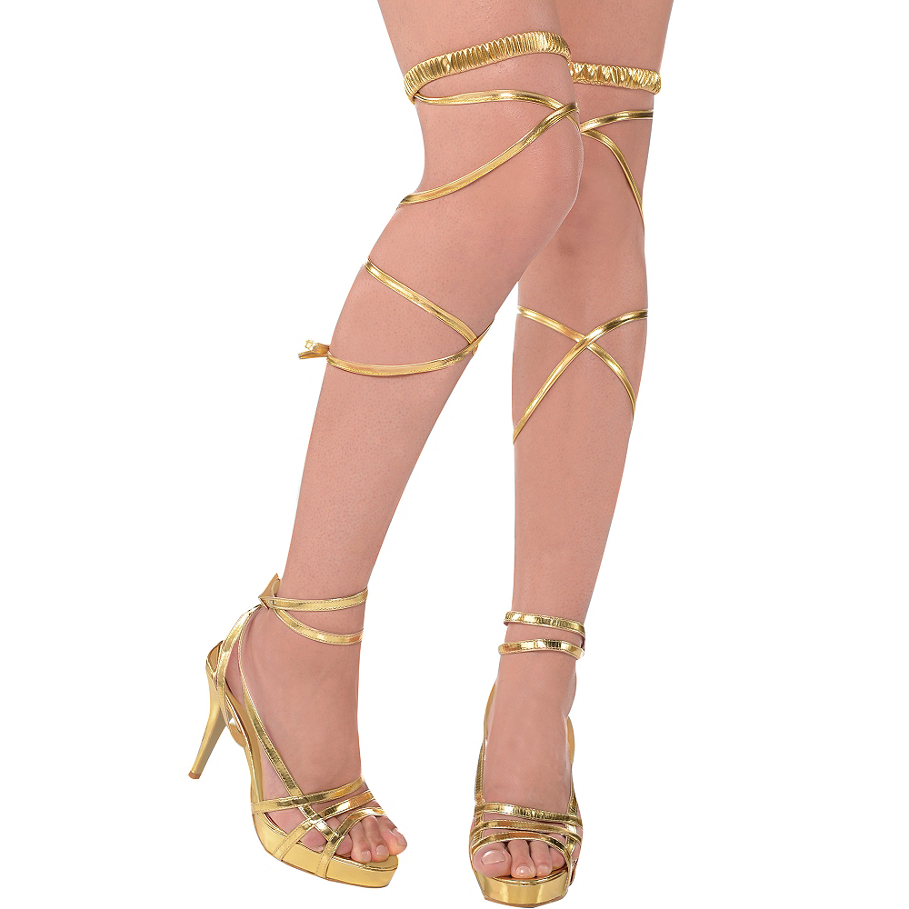 Nav Item for Gold Goddess Leg Wraps Image #1