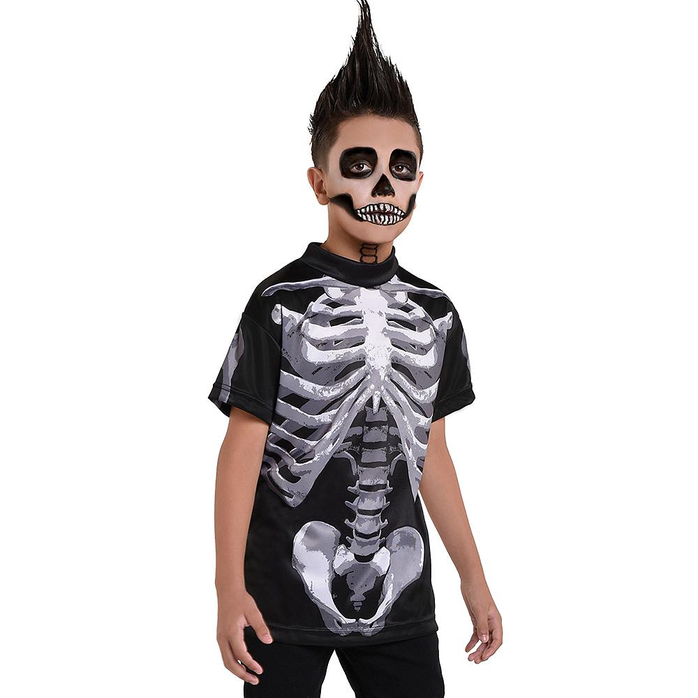 Child Skeleton T-Shirt - Black & Bone Image #1