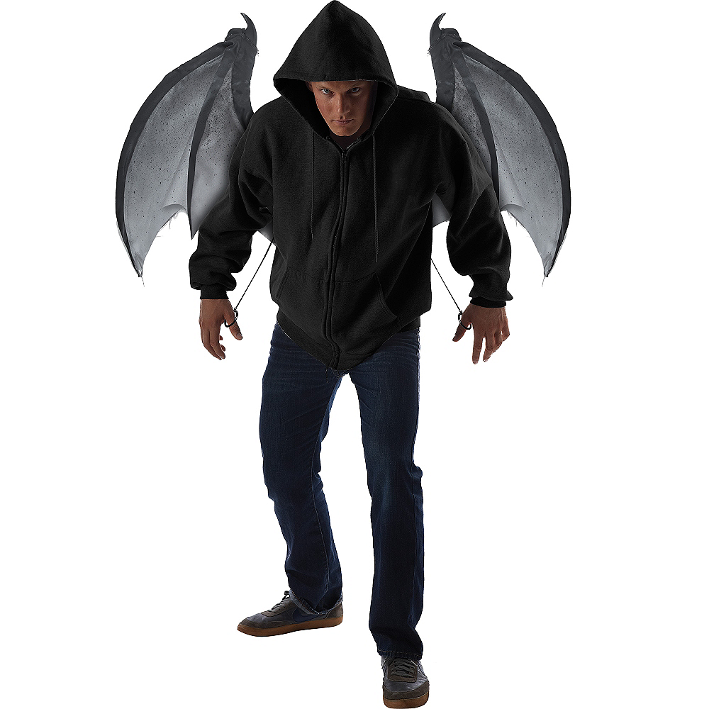 Gray Bloodnight Mechanical Bat Wings Image #2