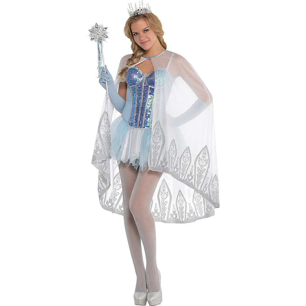 white ice princess cape