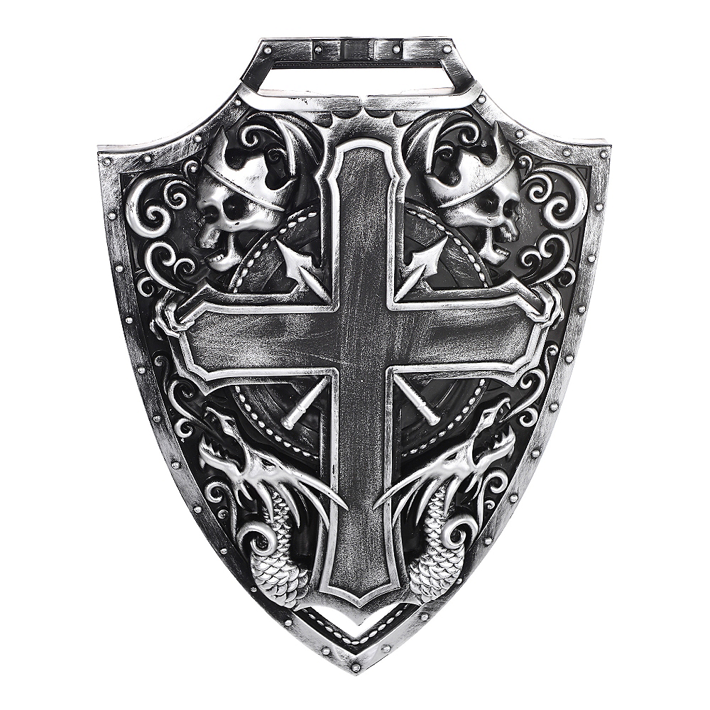 Medieval Crusader Shield & Sword Image #3