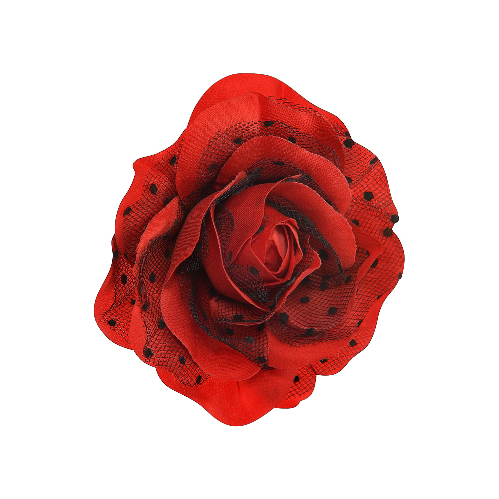 Rose Rockabilly Hair Clip Image #1
