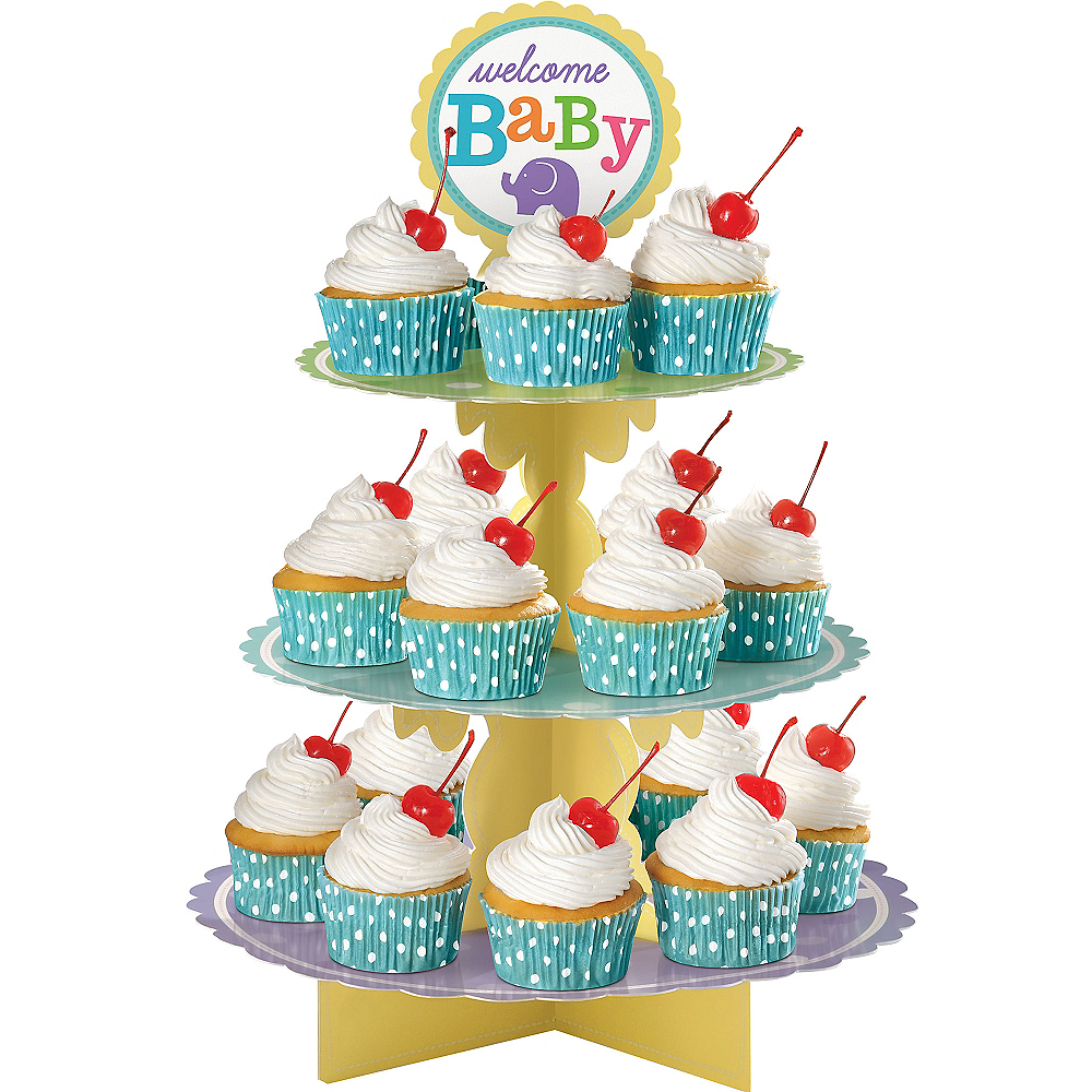 Baby Shower Cupcake Stand Image #1