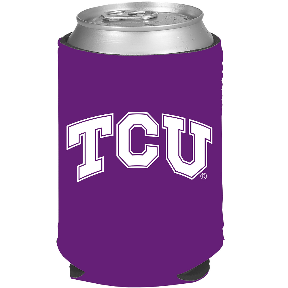 TCU Horned Frogs Can Coozie Image #1