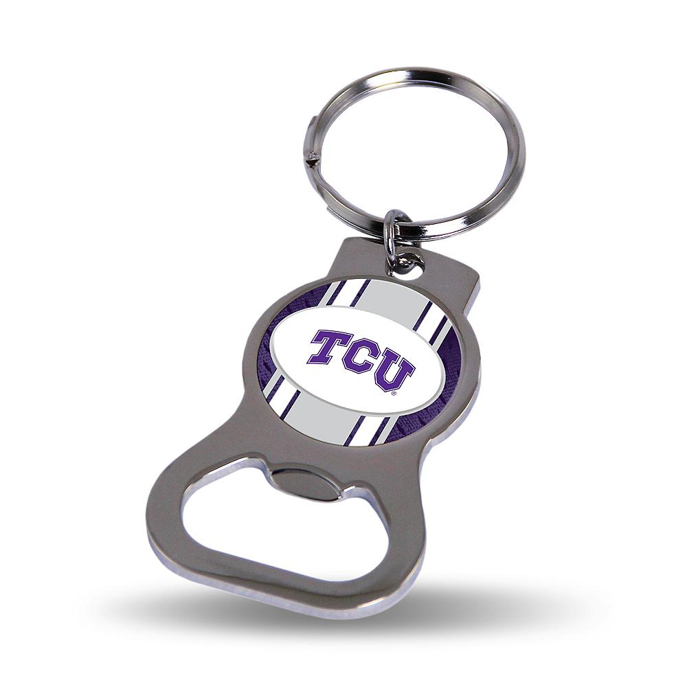 TCU Horned Frogs Bottle Opener Keychain Image #1