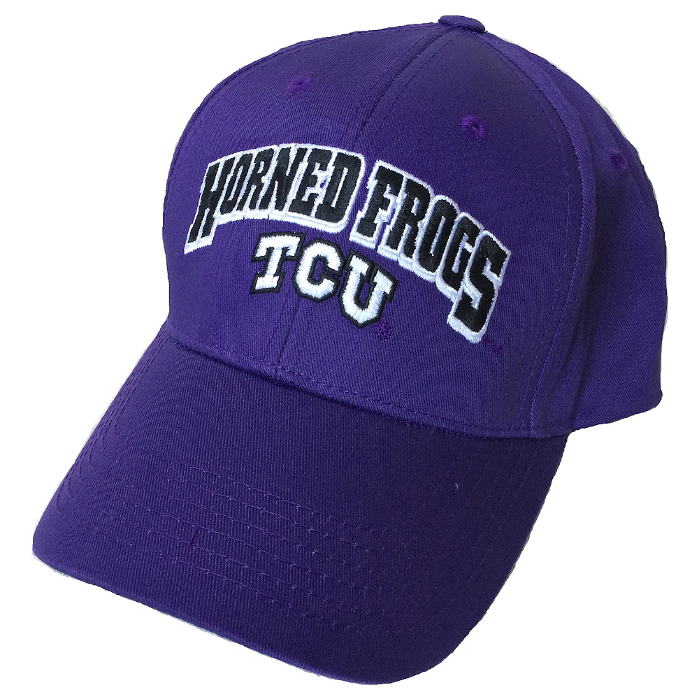 TCU Horned Frogs Baseball Hat Image #1