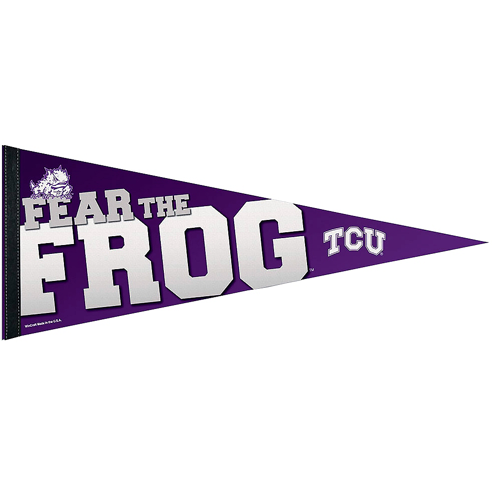TCU Horned Frogs Pennant Flag Image #1