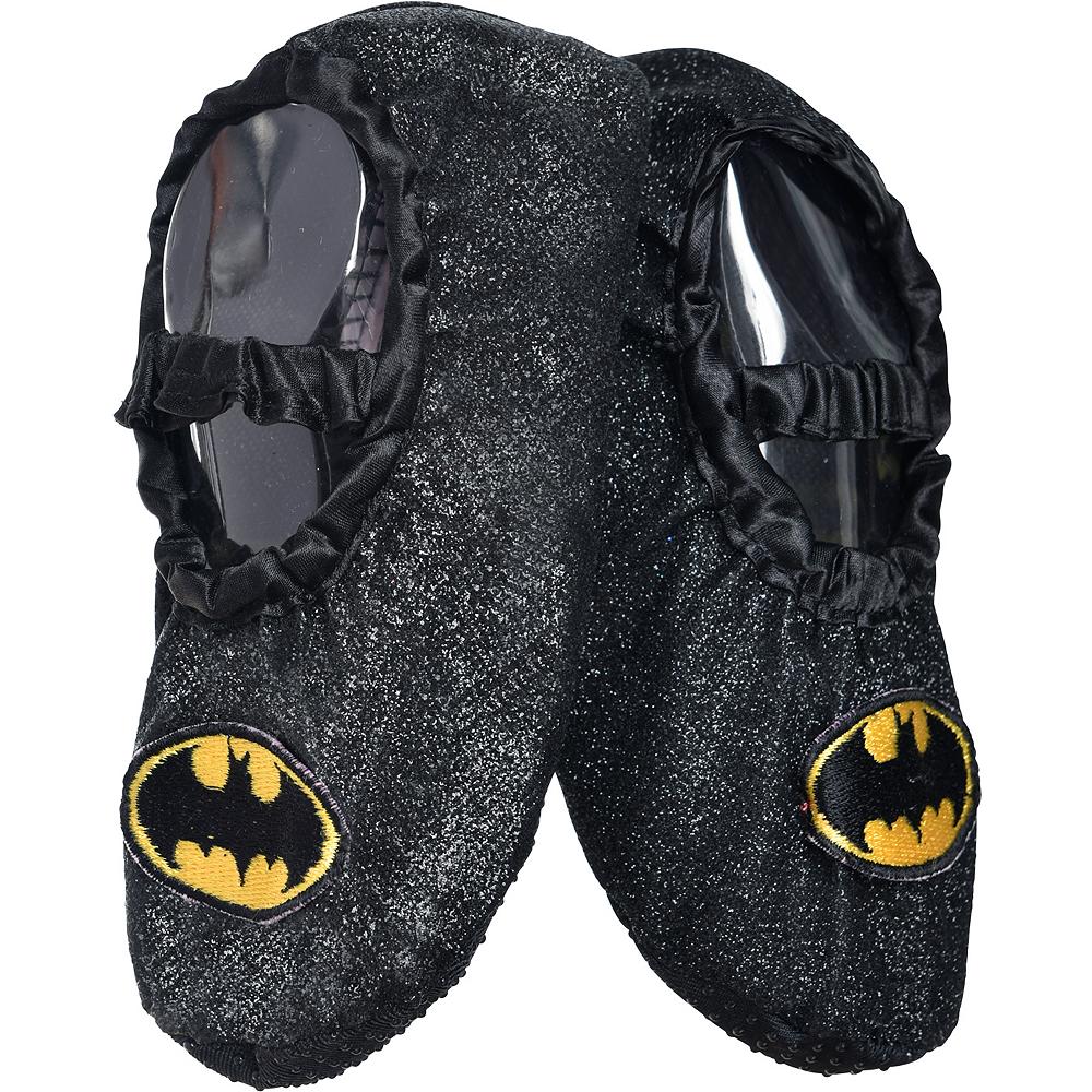 Child Batgirl Slipper Shoes - Batman Image #1