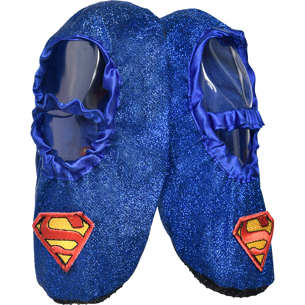 Child Supergirl Slipper Shoes Image #1