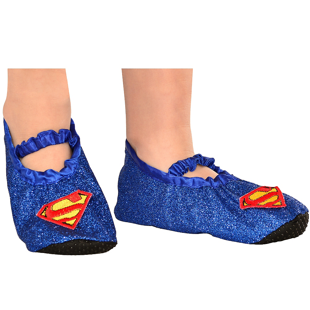 Child Supergirl Slipper Shoes Image #2