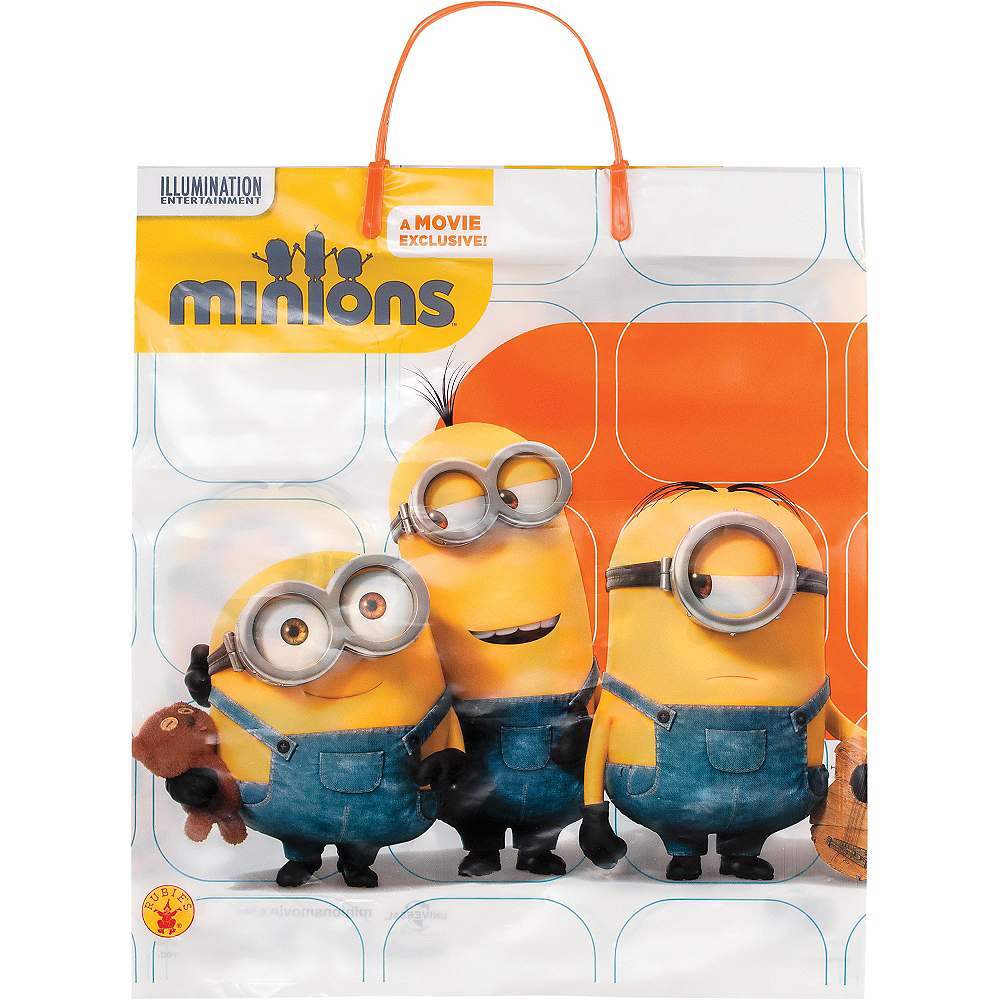 Minions Trick or Treat Bag Image #1