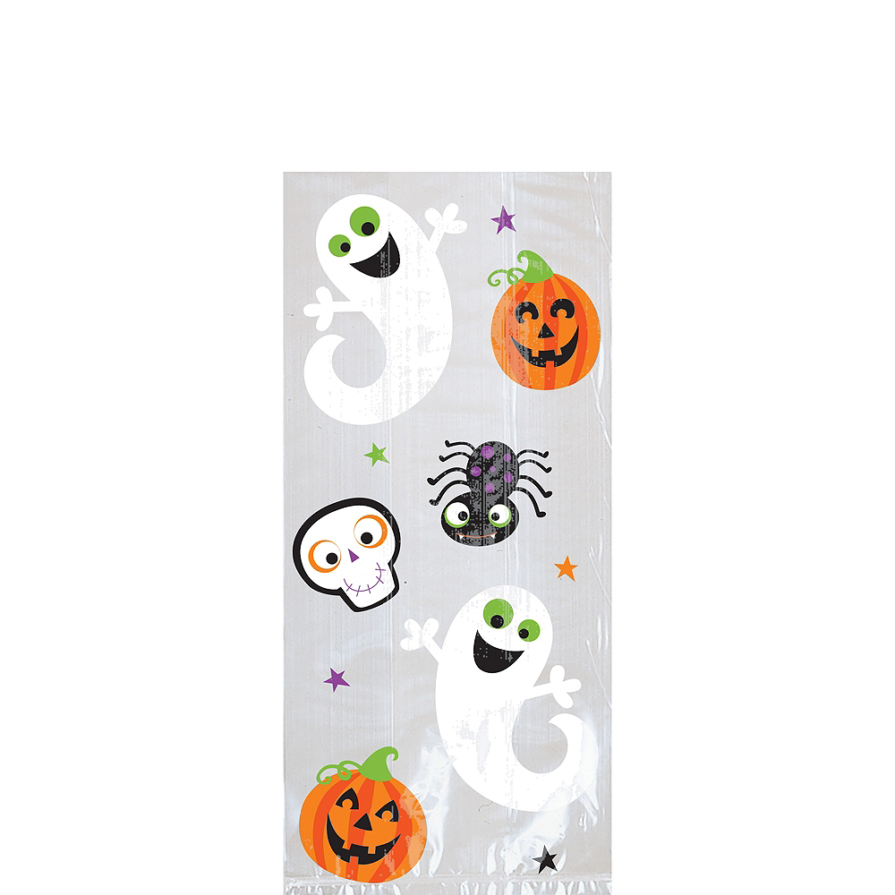 Small Friendly Halloween Treat Bags 20ct Image #1