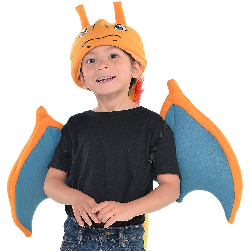 Child Charizard Costume Accessory Kit 3pc - Pokemon Image #1