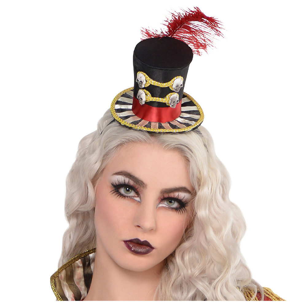 Freak Show Ringmaster Top Hat Headband Image #1