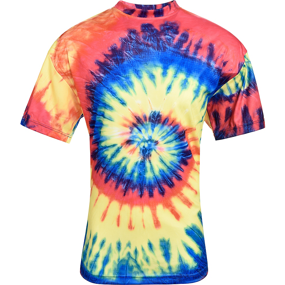 60s Hippie Tie Dye T Shirt Party City