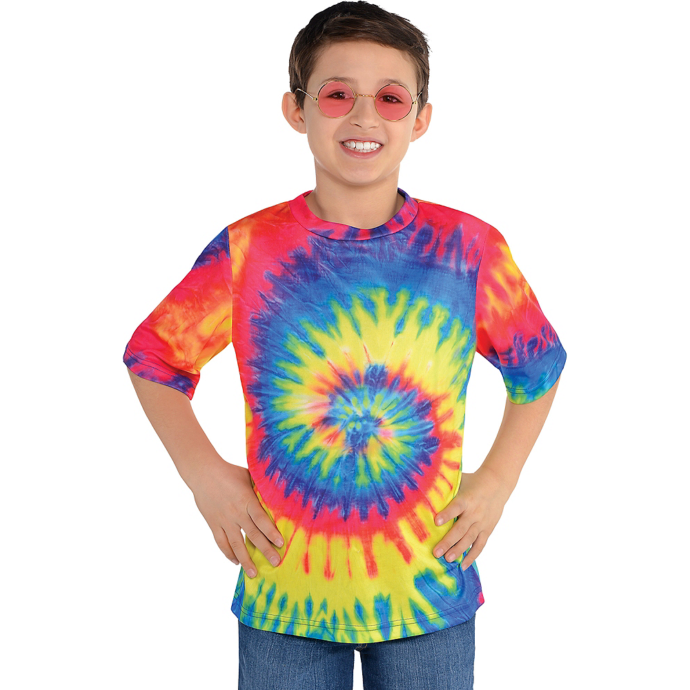 221b04298 Child 60s Hippie Tie-Dye T-Shirt | Party City Canada