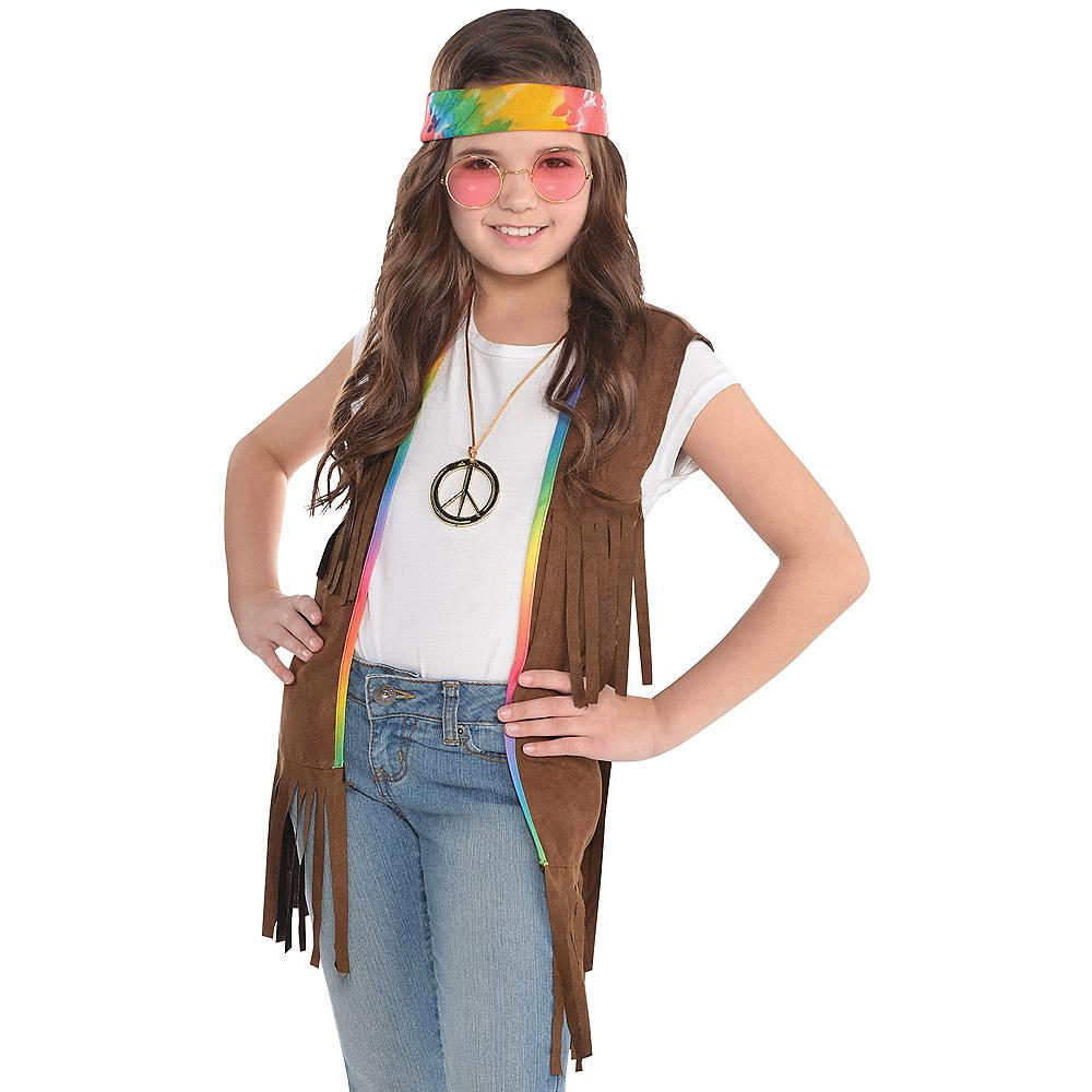 Child 60s Hippie Fringe Vest Party City