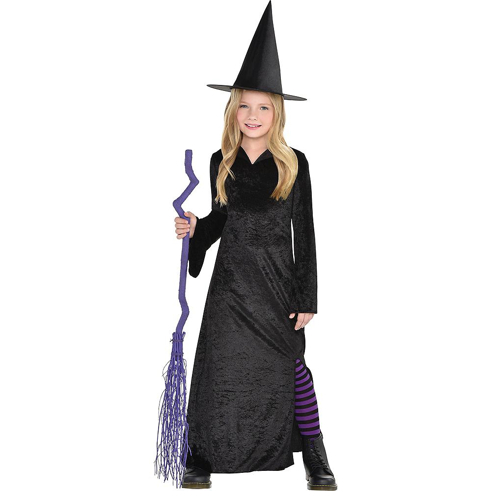 Child Black Witch Dress Image #1