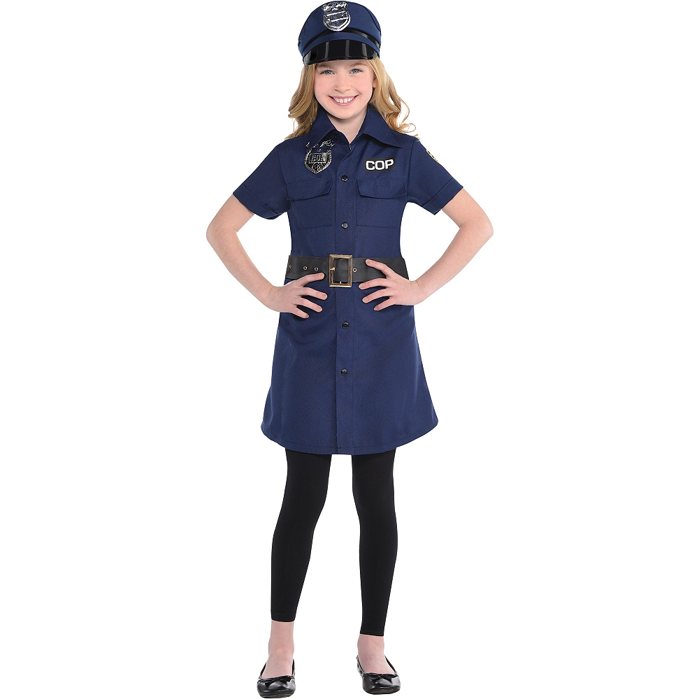 Child Cop Dress Image #1